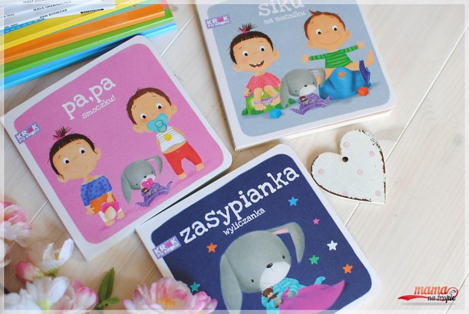 krok po kroku, seria dla najmłodszych, książki dla maluszków, wilga