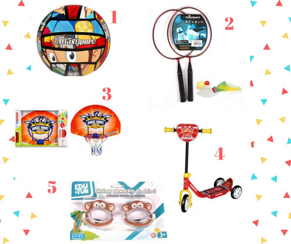 prezenty dla sportowca, prezenty na dzień dziecka, prezent dla dziecka, prezent do 50zł