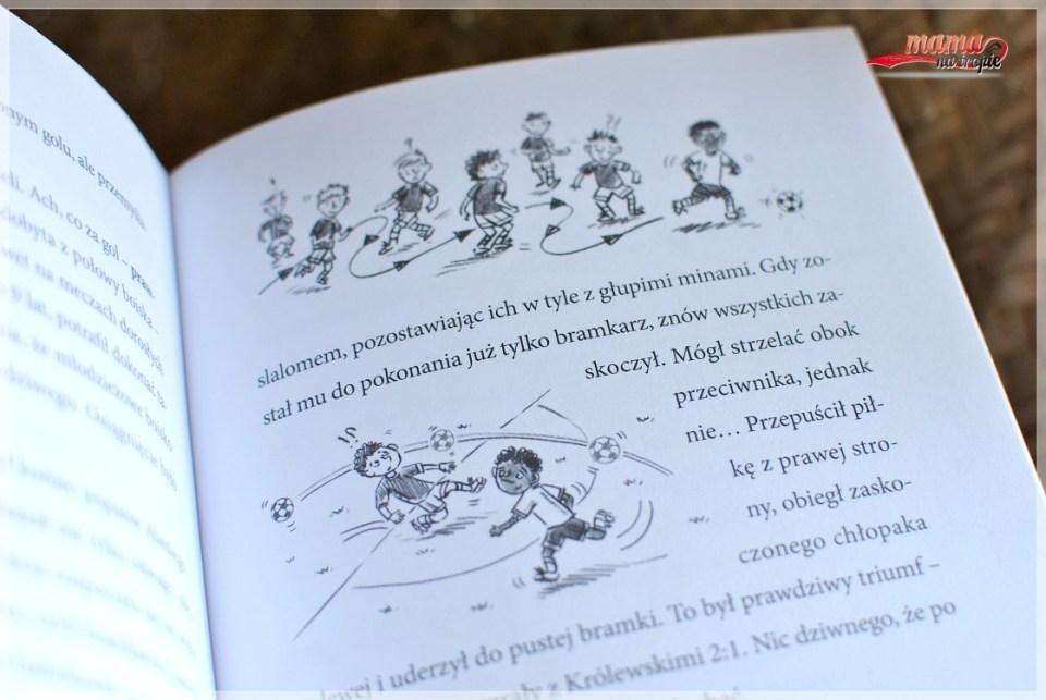 mieszko, dla fanów futbolu, dla dzieci, książka dla piłkarzy