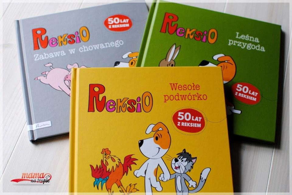 reksio, papilon, dobranocka, książka dla dzieci