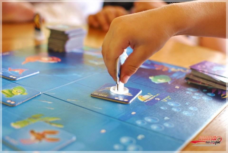 batyskaf, gra 7+, gra planszowa, gra dla dzieci, granna