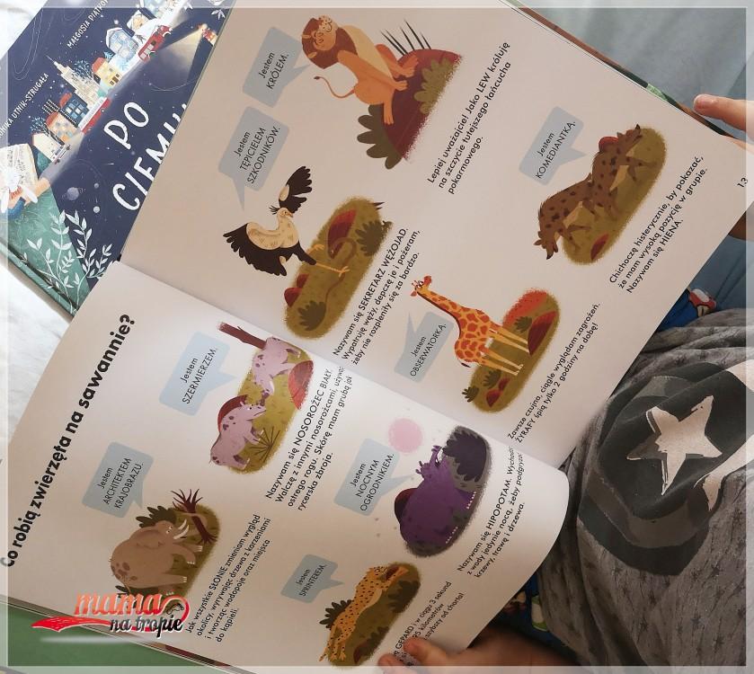 zawodowcy, zawodowcy w świecie zwierząt, książka dla dzieci, książka o zwierzętach, nasza ksiegarnia