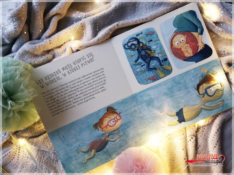 o maluchu w brzuchu, książka dla dzieci, nasza księgarnia