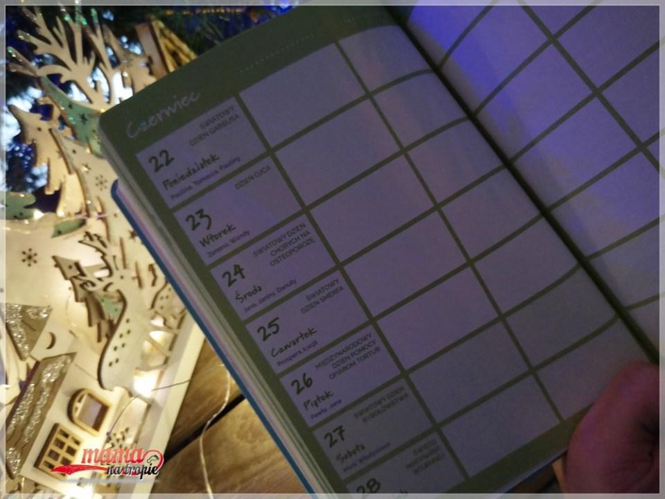 nietypowa matka polka, kalendarz 2020, edipresse książki, plany na nowy rok