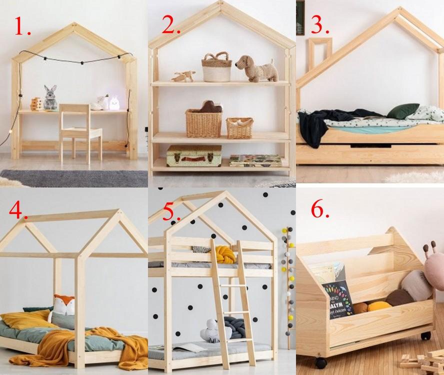 pokój dziecięcy, pokój dla dziecka, meble dla dzieci, łóżko dla dziecka, drewniane meble, edinos