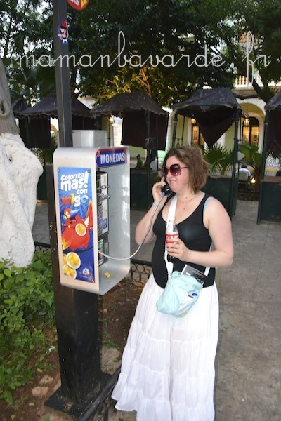 cabine téléphonique mérida mexique