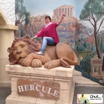 chevaucher lion 12 travaux astérix