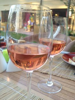 rosé et weight watchers