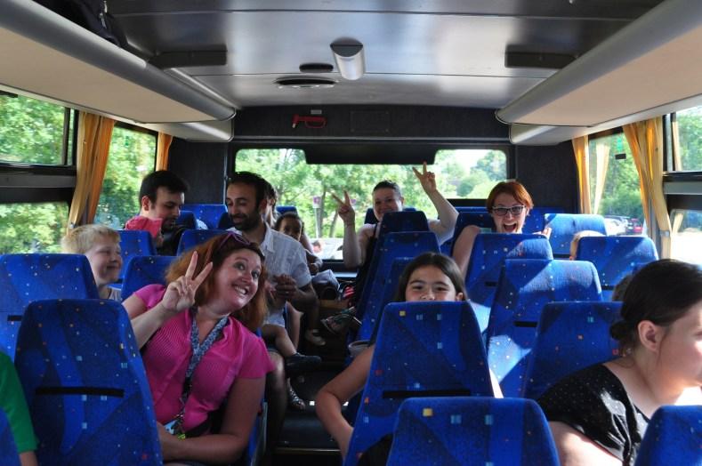 bus thoiry visite guidée