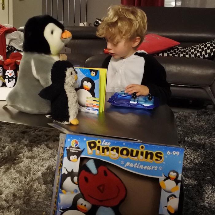 LES_PINGOUINS PATINEURS