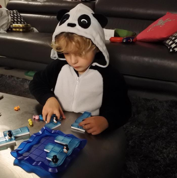 pingouin jeu casse-tête