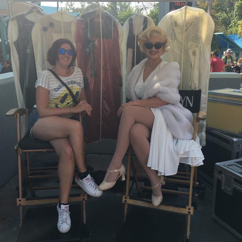Universal studios Marilyn Monroe