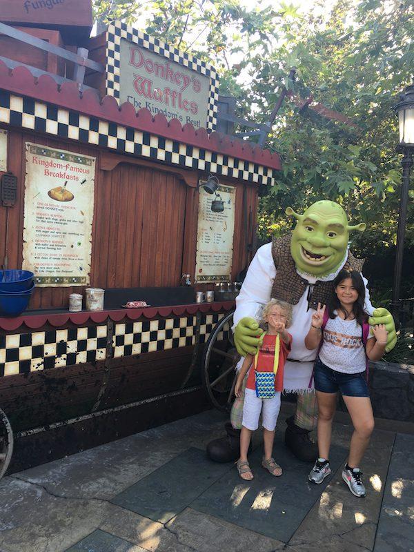 Universal studios rencontre avec Shrek