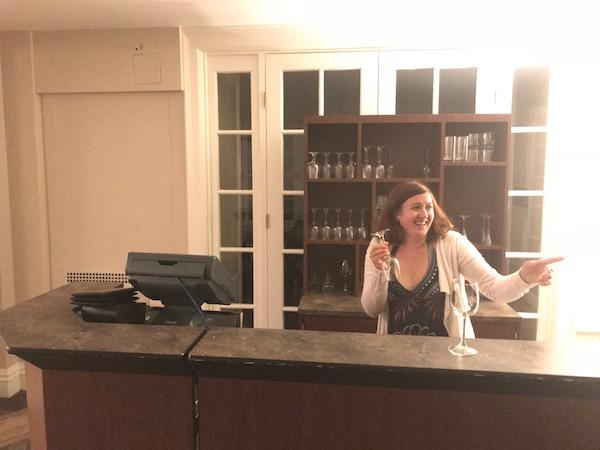 nuit à l'hôtel