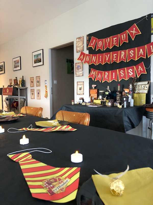 Un anniversaire Harry Potter.