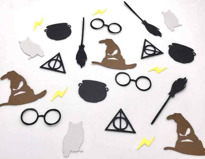 confettis Harry Potter