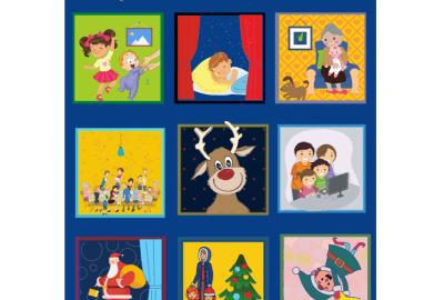 24 fenêtres ouvertes sur Noël