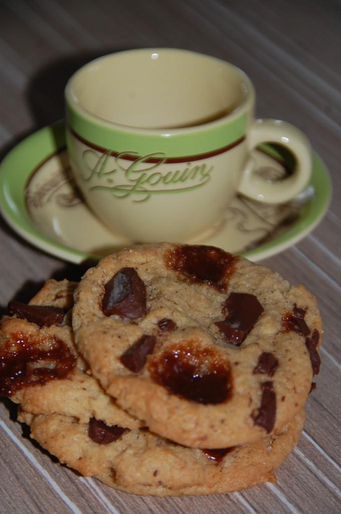 Cookies chocolat carambar