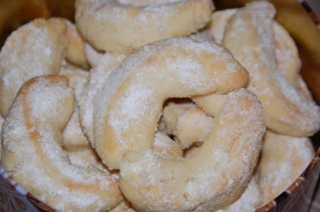 Croissants de Noël aux amandes
