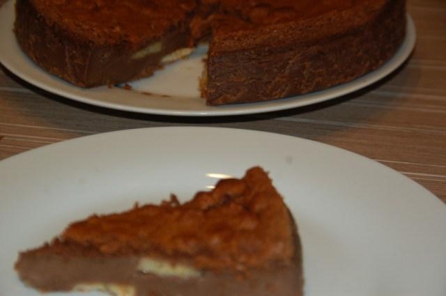 Gâteau magique chocolat banane
