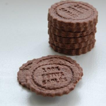 Sablé au chocolat