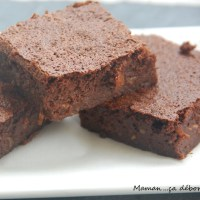 Fondant chocolat courgette (sans gluten)