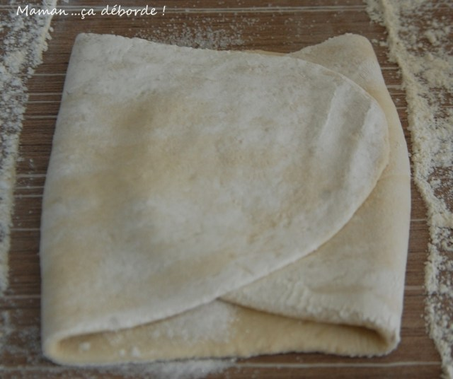 Pliage de la pâte à kouign amann5