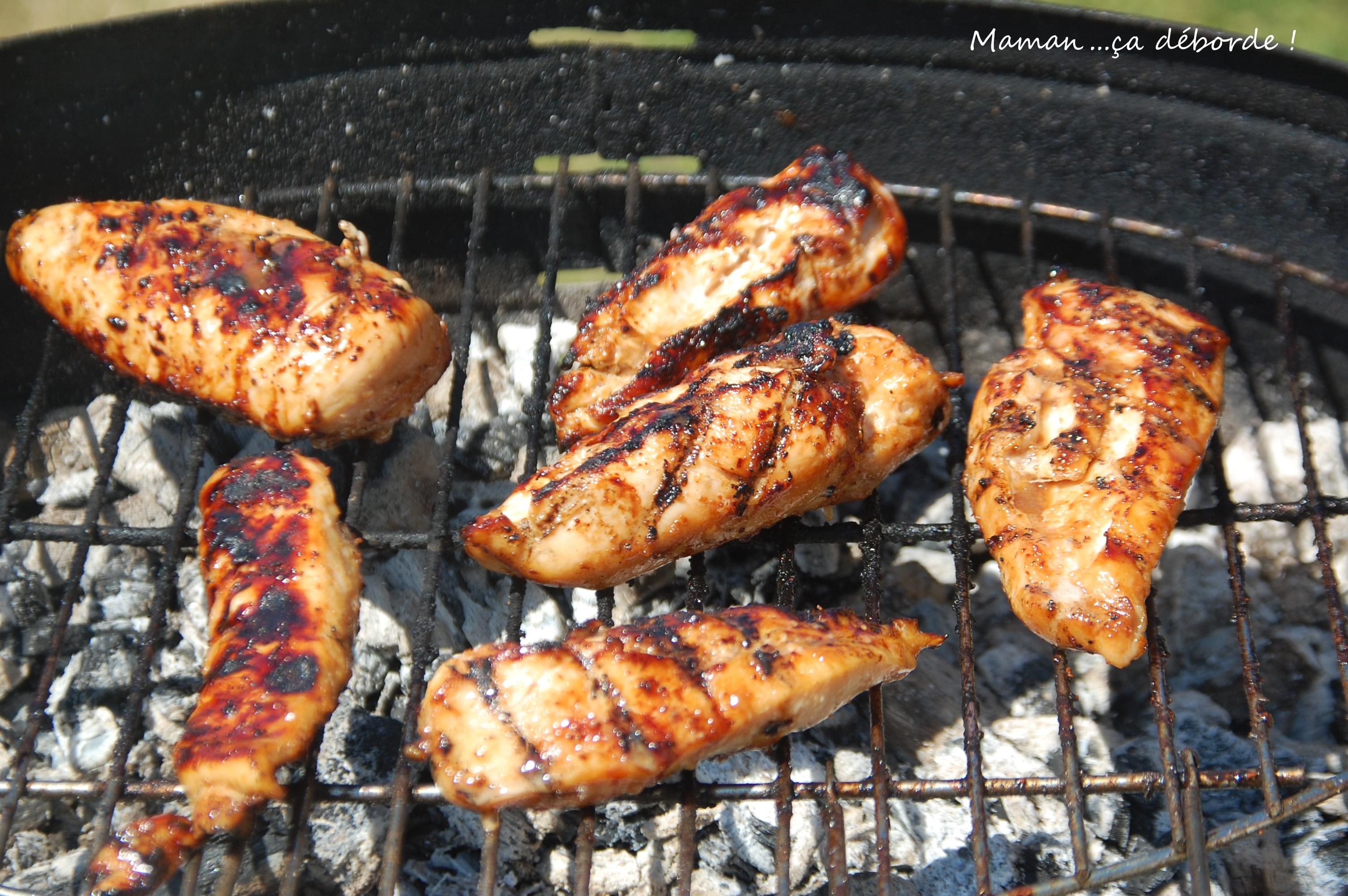 marinade pour poulet au barbecue - mamança déborde