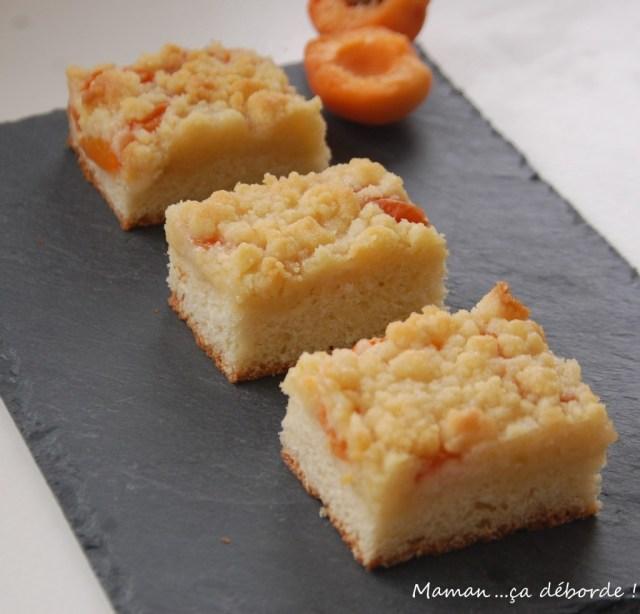 Strudel aux abricots