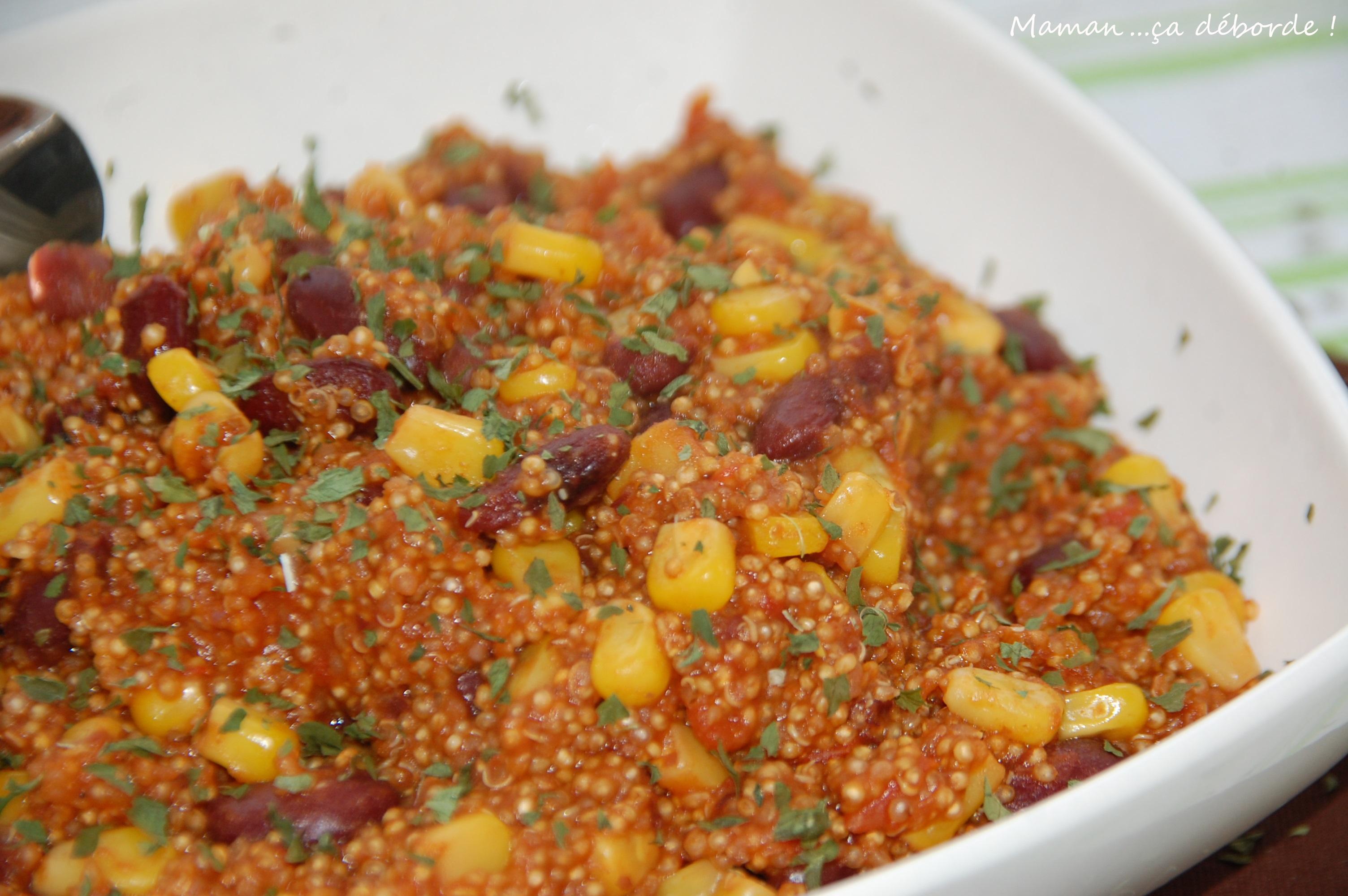 One pan quinoa façon mexicaine