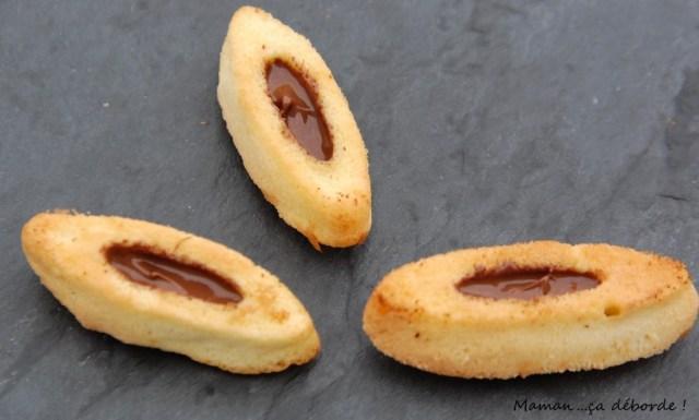 Biscuits façon barquettes de Lu