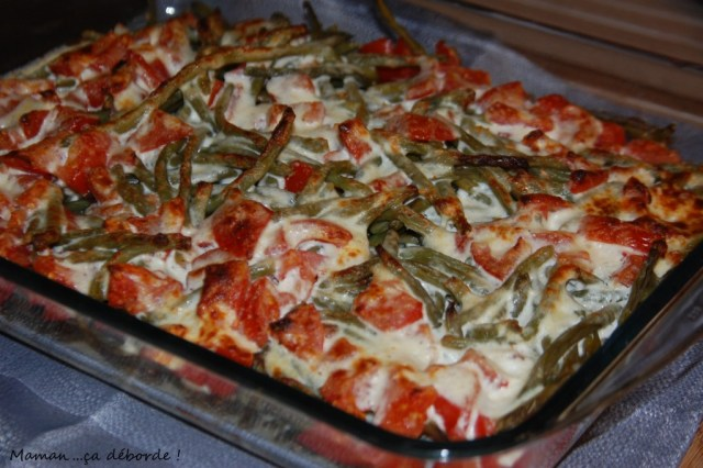 Moussaka de haricots verts2