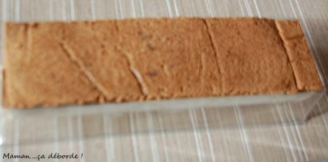 Buche spéculoos nutella11