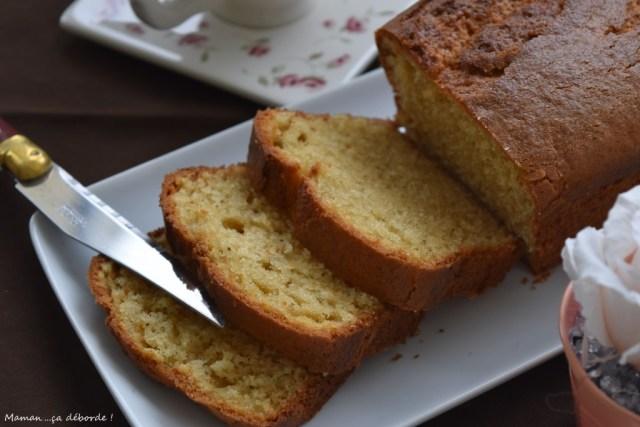 Cake au mascarpone et aux trois vanilles