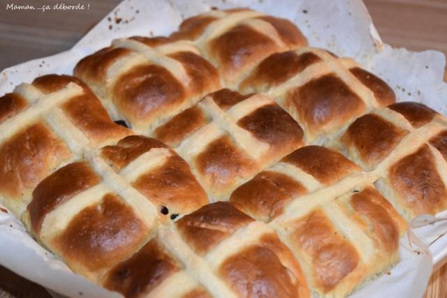 Hot cross buns - Petits Pains de Pâques
