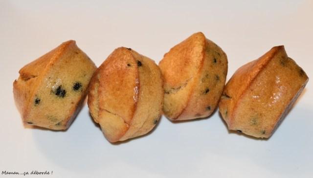 Muffins au lait concentré sucré et pépites de chocolat