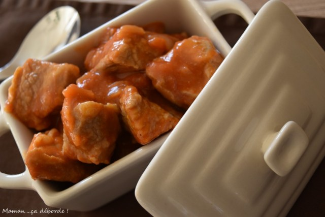 Sauté de veau à la tomate