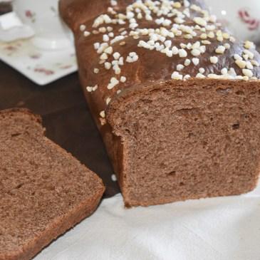 Brioche chocolat caramel sans oeuf