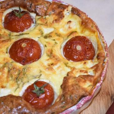 Clafoutis tomate et feta