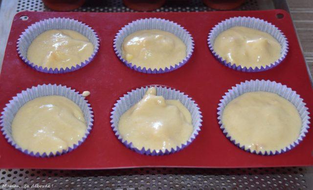 Mini crumb cakes à la nectarine