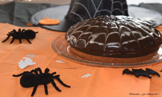 Zebra cake d'Halloween