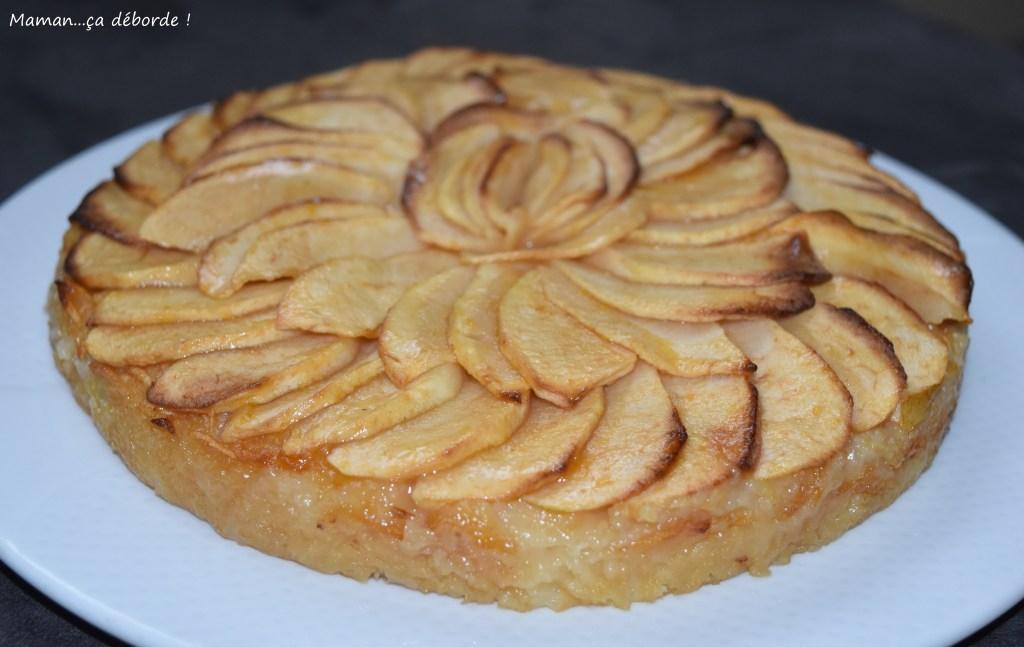 Tarte aux pommes sans pâte