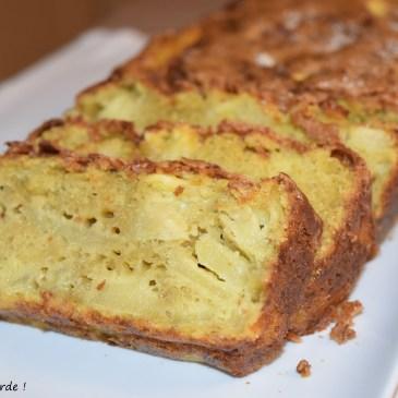 Cake aux pommes aux jaunes d'oeufs