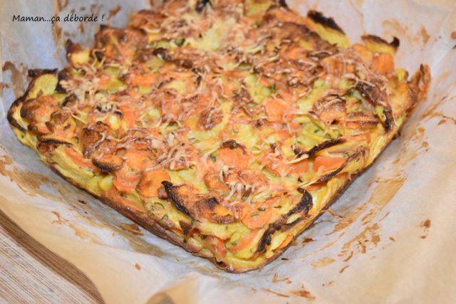 Gâteau invisible carotte/navet