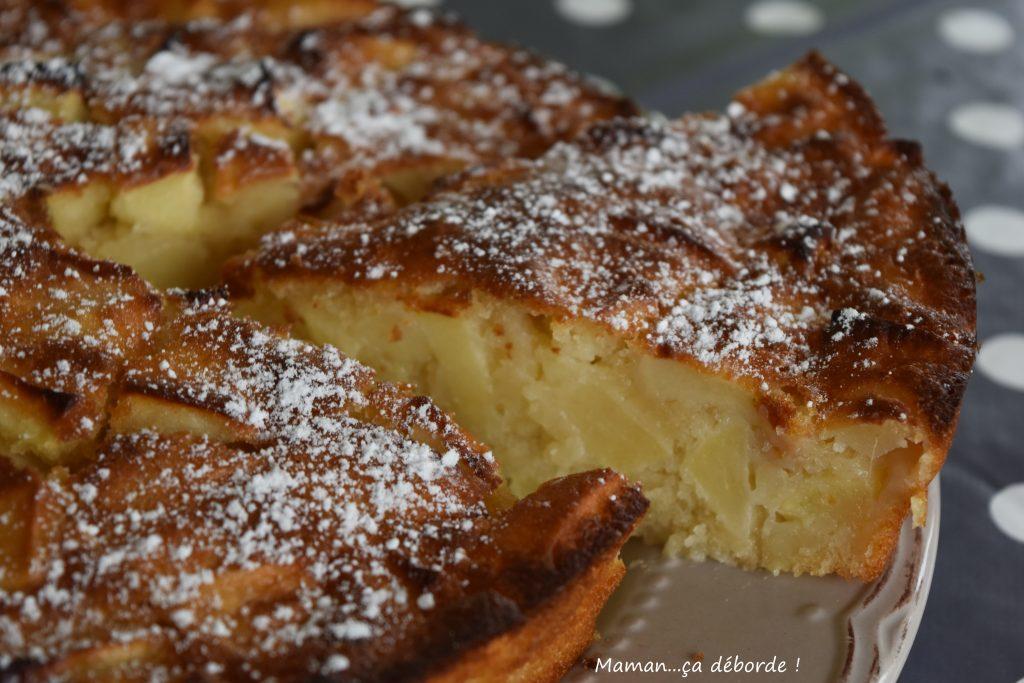 Recette delicieux gateau aux pommes