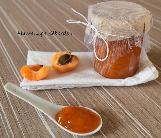 confiture abricot sauge