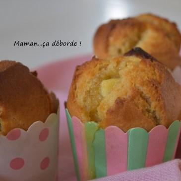 Muffins au chocolat blanc