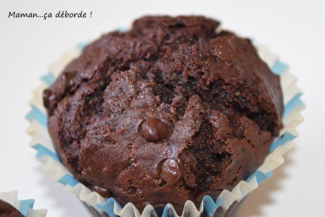 Muffins chocolat et yaourt