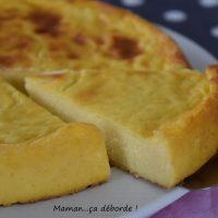 Flan pâtissier sans pâte de Michalak