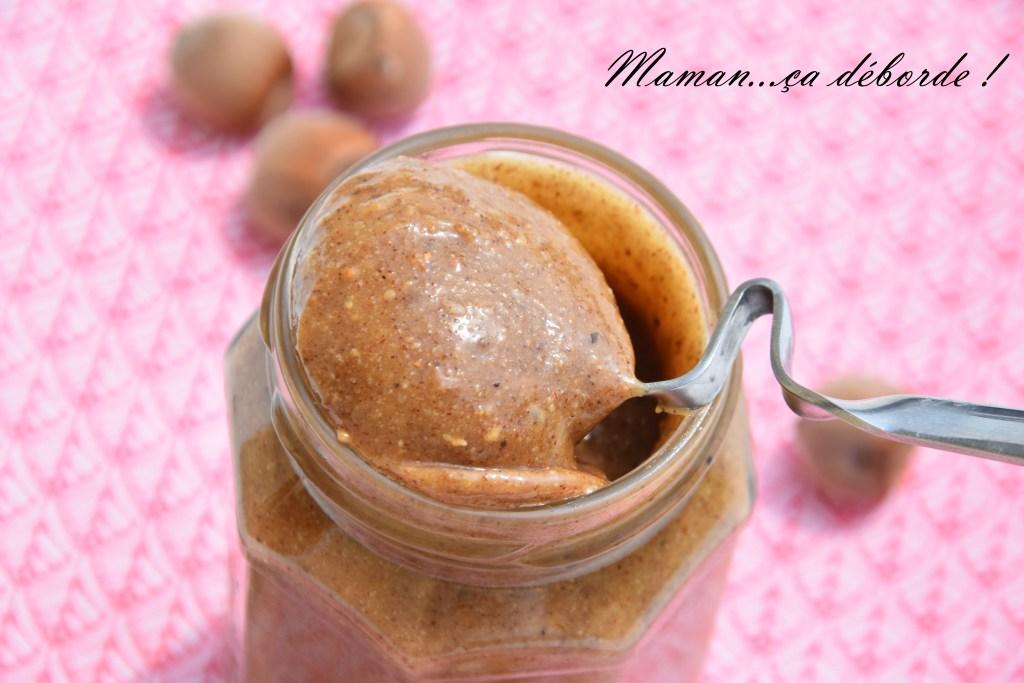 Pâte à tartiner miel et noisette